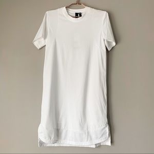 Adidas White T-shirt Dress
